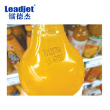 La máquina de la codificación de la fecha de la inyección de tinta de Leadjet V98 embotella la impresora
