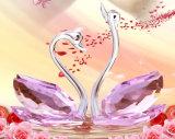 Zwaan van het Kristal van de Ambachten van het Kristal van de Giften van het Huwelijk van de Kwaliteit van Hihg de Kleurrijke