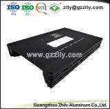 Dissipateur en aluminium personnalisé de haute qualité pour l'équipement audio de voiture de dissipateur thermique du radiateur avec la norme ISO9001