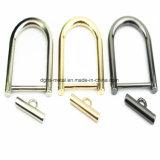 A curvatura quente do anel-D da liga do zinco do metal da venda para o saco parte os acessórios dos bens do couro de sapatas da curvatura de correia (Bl2512, 3101, 3542, 3712, 4019, 9596)