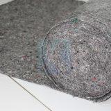 Ткань из текстиля серого цвета художник падает хлопка считает тканью