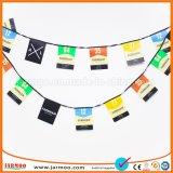 Utiliza la actividad de las partes interiores de diseño libre Bandera de Bunting