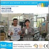 máquina de molde do sopro da injeção da IBM do frasco da medicina de 500ml 1L