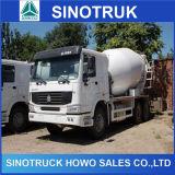 caminhão concreto resistente da mistura de 6X4 HOWO com o tanque 10cbm