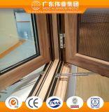 Finestra di alluminio della stoffa per tendine di stile europeo di buona qualità fatta in Cina