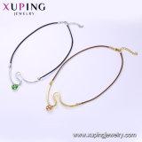 FormNecklace-00611 zircon-Basisrecheneinheits-Schmucksache-Halskette überzogen mit Rhodium-Farbe