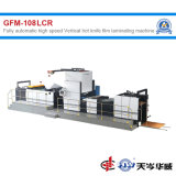 Vollautomatischer vertikaler Hochgeschwindigkeitstyp heißer Messer-Film-lamellierende Maschine [GFM-108LCR]
