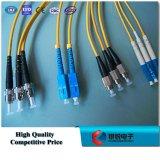 Cuerda de corrección óptica de fibra/óptica FC/Upc Sx SM 3.0m m Lszh el 1m