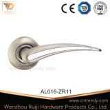 La quincaillerie de porte d'entrée Salle de bains la poignée de verrouillage en alliage de zinc en aluminium (AL066-ZR11)
