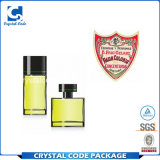 La botella de perfume maravillosa del estilo de la manera etiqueta etiquetas engomadas