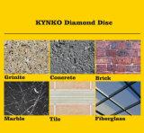 La pietra lavora la lamierina di taglio del diamante degli accessori 230mm