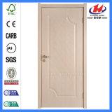 Porte intérieure de plastique de PVC de panneau modèle de salle de bains de forces de défense principale