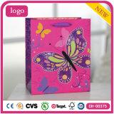 Basisrecheneinheits-bereift rosafarbene Form-Kleidung Spielzeug-Geschenk-Papierbeutel