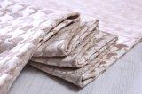 Tissu rose de polyester de jacquard de Chenille par 410GSM