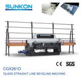 9 шпиндели Beveling кромочный машины для обработки стекла (CGX261D)