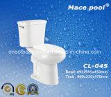 Gabinetto a due pezzi degli articoli sanitari della stanza da bagno (CL-045)