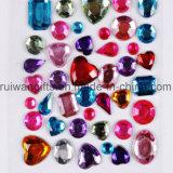 De Stickers van het Bergkristal van de Diamant van het kristal voor Mobiele Telefoon