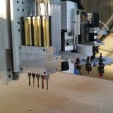 Muebles de madera puerta del armario haciendo que la molienda de ATC, Router CNC Máquina con cambiador de herramientas