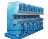 Presse de vulcanisation hydraulique de piste en caoutchouc (XLB-600*5500)
