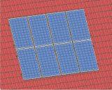 Pitch teto lado a estrutura de suporte de montagem dos raios solares