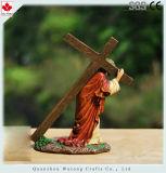 Decorazione trasversale religiosa del Figurine della resina su ordinazione di Hotsell