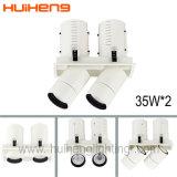 Высокий люмен 35Вт*2 регулируемый КРИ LED складной затенения