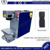20W de economische Kleine Laser die van de Vezel Machine voor het Metaal van Plastieken merkt