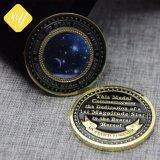 カスタム金属のエナメルは記念品メダルバッジの折りえりPinの硬貨のレプリカを与える