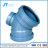 Штуцеры водоотводной трубы PP поставщика Китая локоть 45 градусов