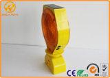 Voyant d'alarme solaire de clignotement de signal d'échantillonnage du jaune de bonne qualité DEL