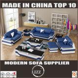 居間のためにセットされるマイアミの革ソファーとのソファの販売