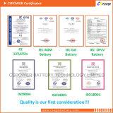 Cspower 12V 150ah tiefe Schleife-Gel-Batterien für Sonnenkollektor
