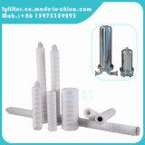 Grande flusso filato/pre pieghettato/stringa ferireito cartuccia di filtro dall'acqua da 20 pollici per il trattamento industriale (polipropilene di PPF)