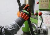 Нитриловые Anti-Impact Окунув теплый Механические узлы и агрегаты зимние рабочие перчатки безопасности