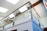 발코니와 층계를 위한 계단 난간 Frameless 유리제 방책