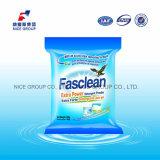 Pó extra agradável do detergente da potência do perfume 500g Fasclean