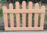 Cercado plástico de madera del compuesto WPC del jardín de la seguridad al aire libre del uso
