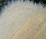 Hilo para obras de punto del pelo de lujo al por mayor de la marta 100%Nylon de la fábrica para el calcetín