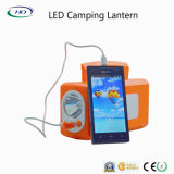 Energiesparendes LED-nachladbares kampierendes Laterne-Licht