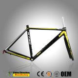 La strada professionale dell'alluminio Al7005 Bikes la forcella del carbonio e del blocco per grafici T800