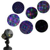 Luz laser al aire libre programable de las luces laser de la luz laser del suelo de baile