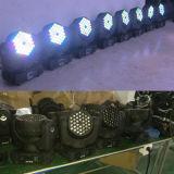 Cer RoHS DMX Stadiums-Beleuchtung Träger-bewegliche Kopf DJ-LED