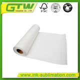 Populares 75gramos de papel de sublimación de alta velocidad de transferencia