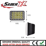 4X6 45W 직사각형 LED에 의하여 밀봉되는 광속 헤드라이트