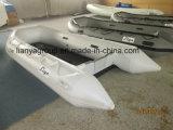Liya 2-6.5m Marcação barco inflável inflado barcos de borracha para a Pesca