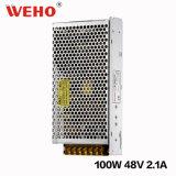 Bloc d'alimentation approuvé de RoHS 100W 48V de la CE de Weho