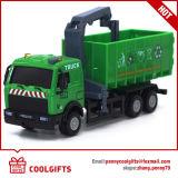 1: 43 miúdos do metal puxam o brinquedo mais limpo para trás fundido do modelo de caminhão