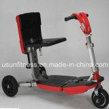 Bom preço dobrável e mobilidade eléctrica de três rodas Scooters motociclo para Adulto