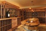 De Kelder van de Wijn van Customzied met Pijnboom/het Eiken Houten Kabinet van de Wijn