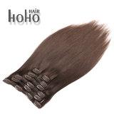 Commercio all'ingrosso clip del Brown da 18 pollici nell'estensione dei capelli umani
